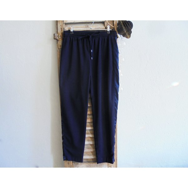 Topshop Hose Jogpants blau Gr.36 Galonstreifen