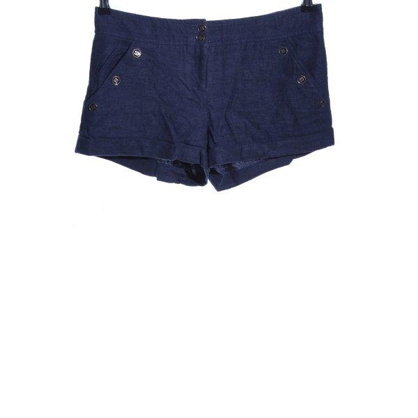 Topshop Hot Pants blau Casual-Look