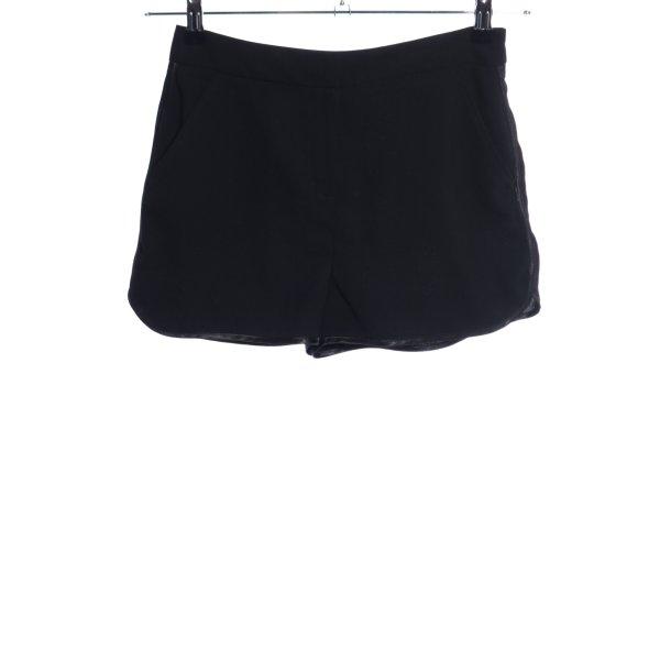 Topshop Hot Pants schwarz Casual-Look