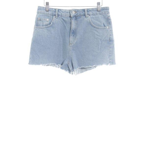 Topshop Hot Pants hellblau Casual-Look