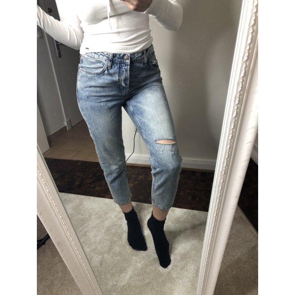 Topshop Jeans mit Rissen, Gr. 36, NEU