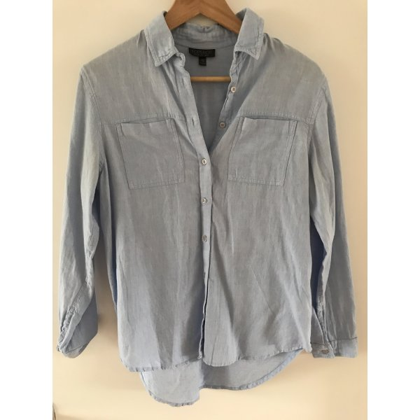 Topshop Jeansbluse