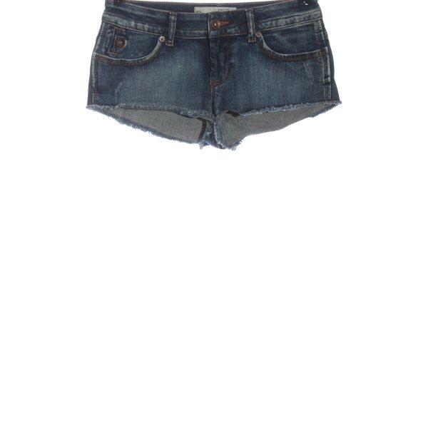 Topshop Jeansshorts blau Casual-Look