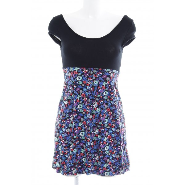 Topshop Jerseykleid Blumenmuster Casual-Look