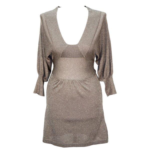 Topshop Kleid in Beige