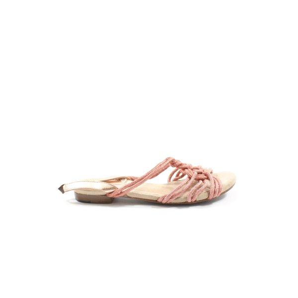Topshop Komfort-Sandalen pink Casual-Look