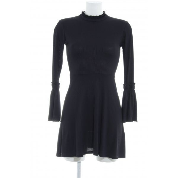 Topshop Langarmkleid schwarz Elegant
