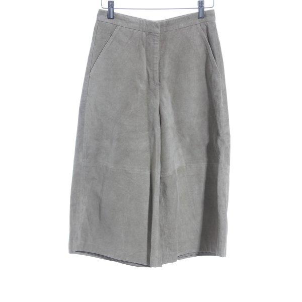 Topshop Lederhose sandbraun Street-Fashion-Look