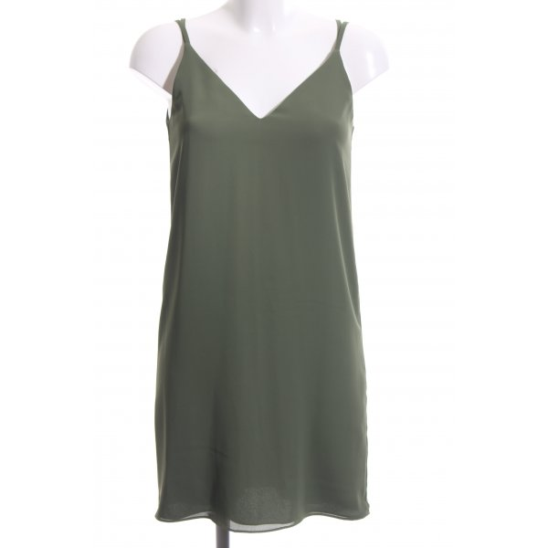 Topshop Minikleid khaki Casual-Look