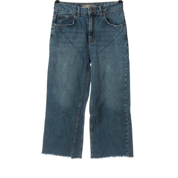 Topshop Moto High Waist Jeans blau Casual-Look