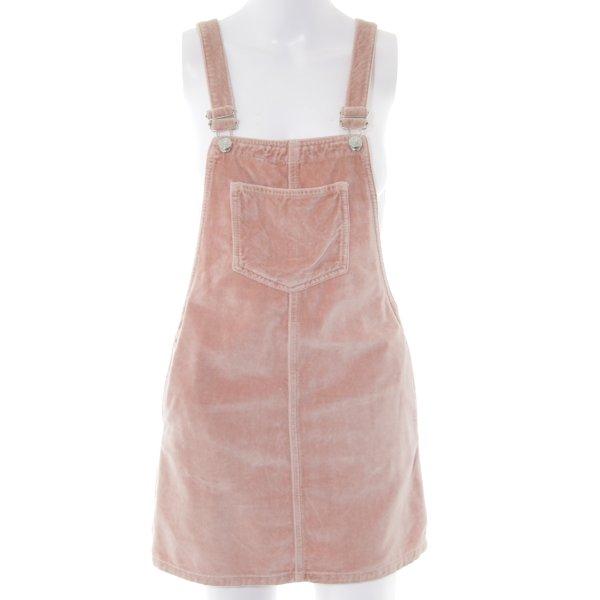 Topshop Petite Salopette-jupe rose style décontracté