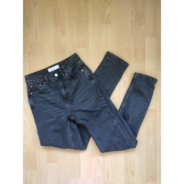topshop premium mom jeans
