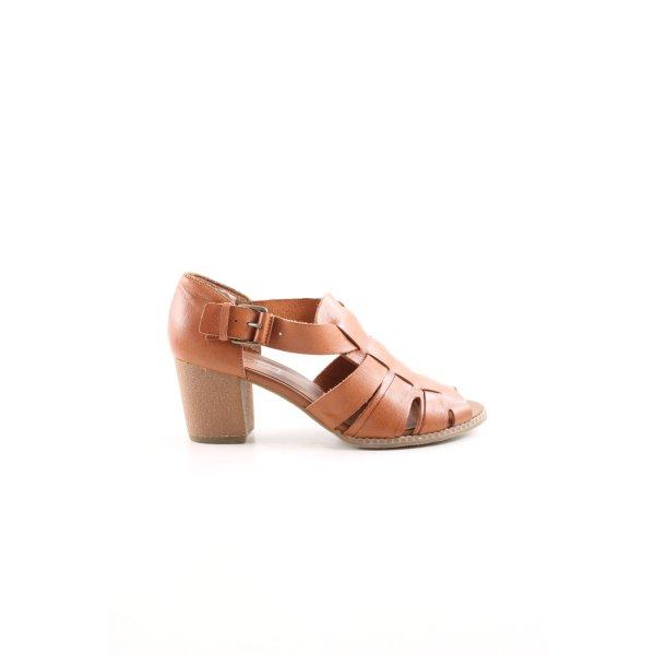 Topshop Riemchen-Sandaletten braun Elegant