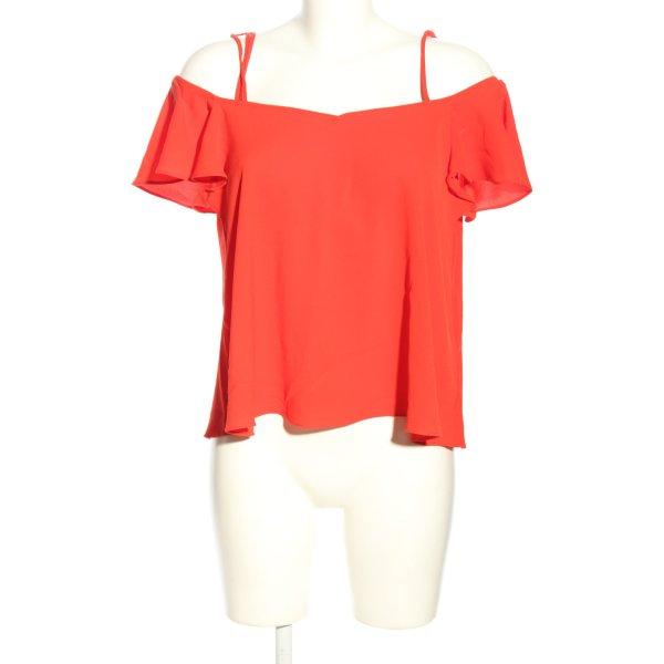 Topshop Schlupf-Bluse rot extravaganter Stil