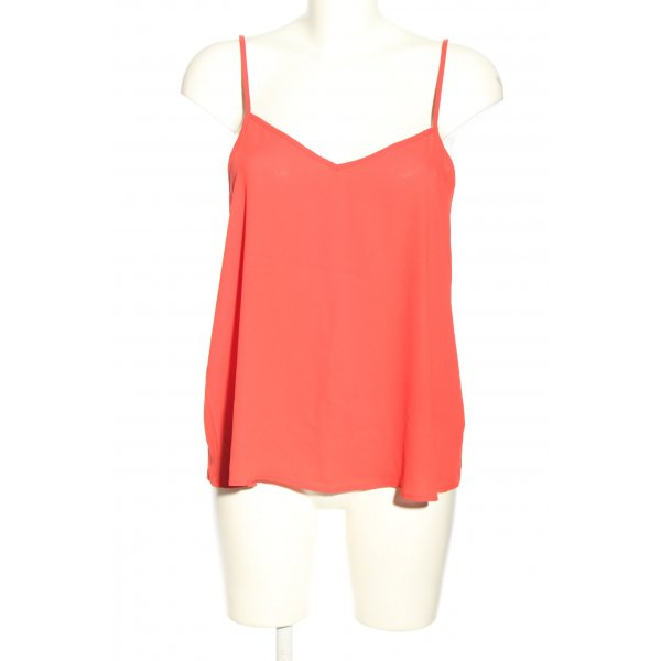 Topshop Schlupf-Bluse rot Casual-Look