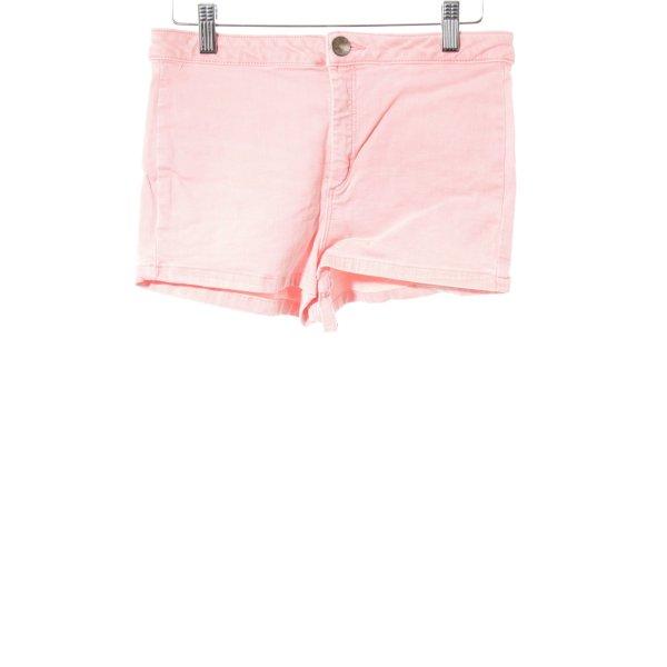 Topshop Shorts neonpink Casual-Look