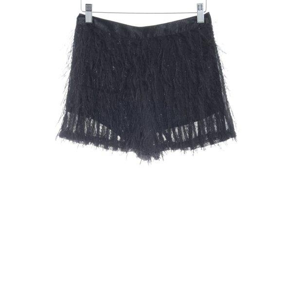 Topshop Shorts schwarz Street-Fashion-Look