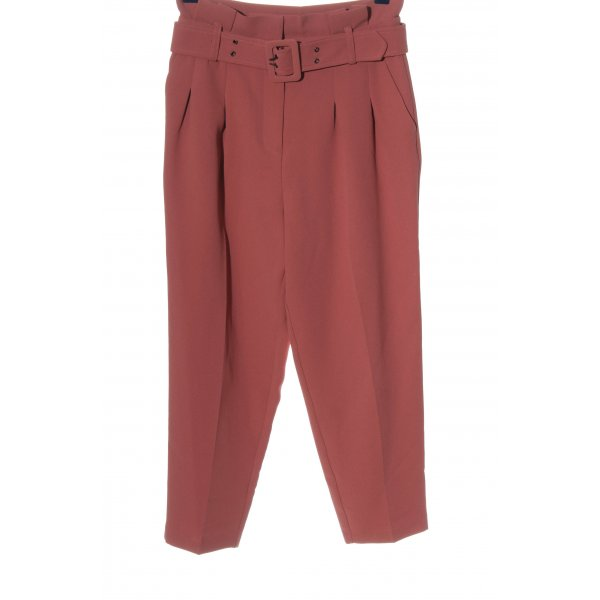Topshop Stoffhose pink Casual-Look