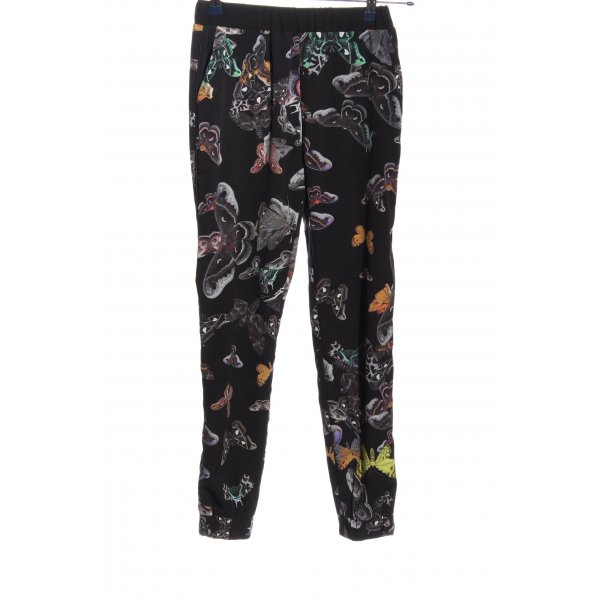 Topshop Stoffhose Allover-Druck Casual-Look