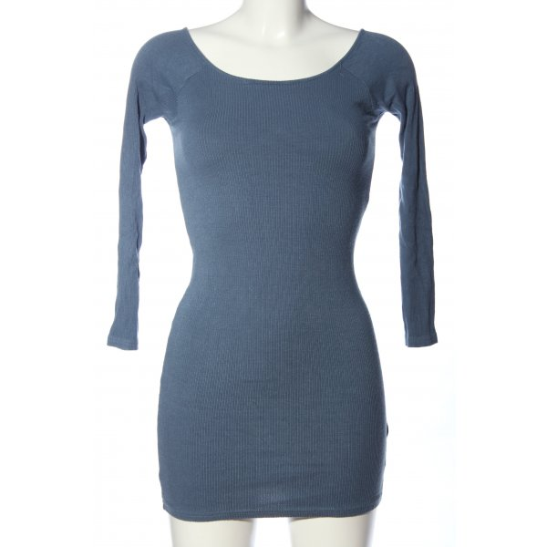 Topshop Strickkleid blau Casual-Look