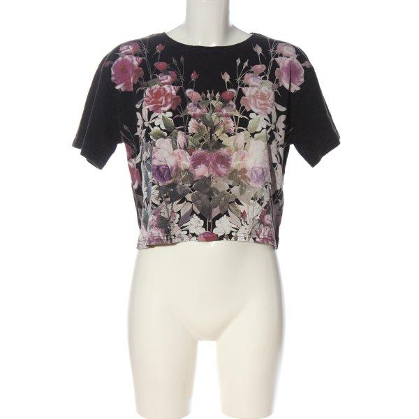 Topshop T-Shirt Allover-Druck Elegant