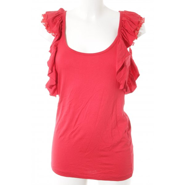Topshop T-Shirt rot Casual-Look
