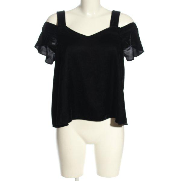 Topshop T-Shirt schwarz Casual-Look