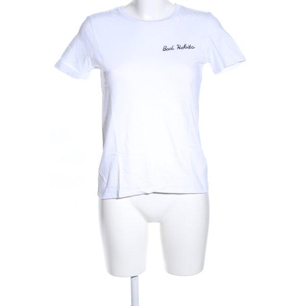 """Topshop T-Shirt """"von Marlene"""" weiß"""