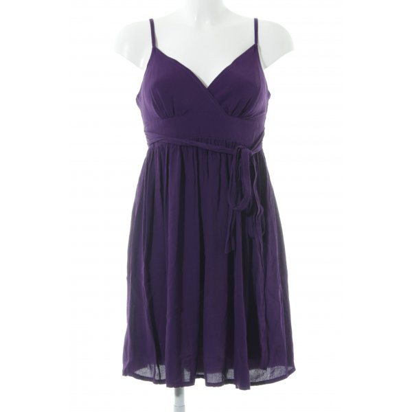 Topshop Trägerkleid dunkelviolett Party-Look