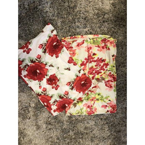 Trägerlose Blumenprint Tops