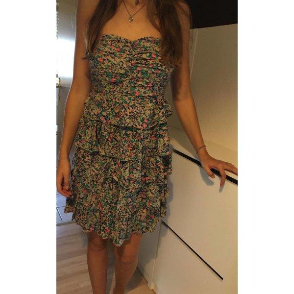 Trägerloses Kleid mit Blumensprint von Vila