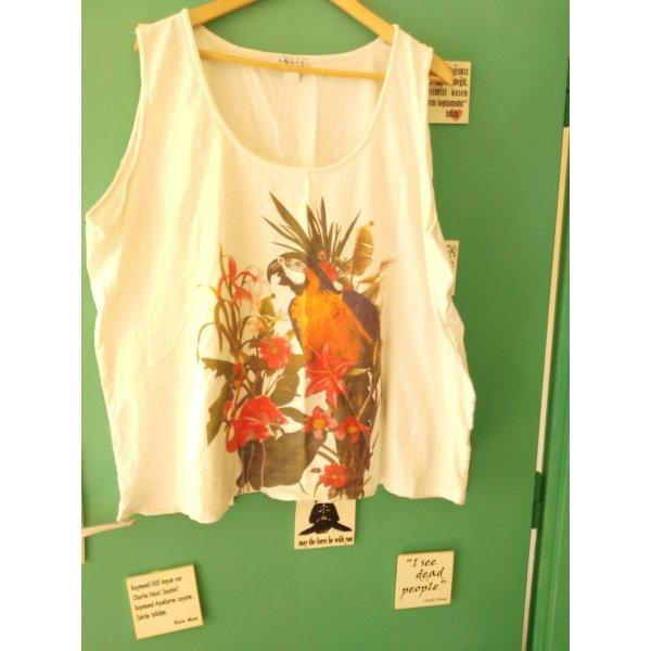 Trägershirt mit Papagei