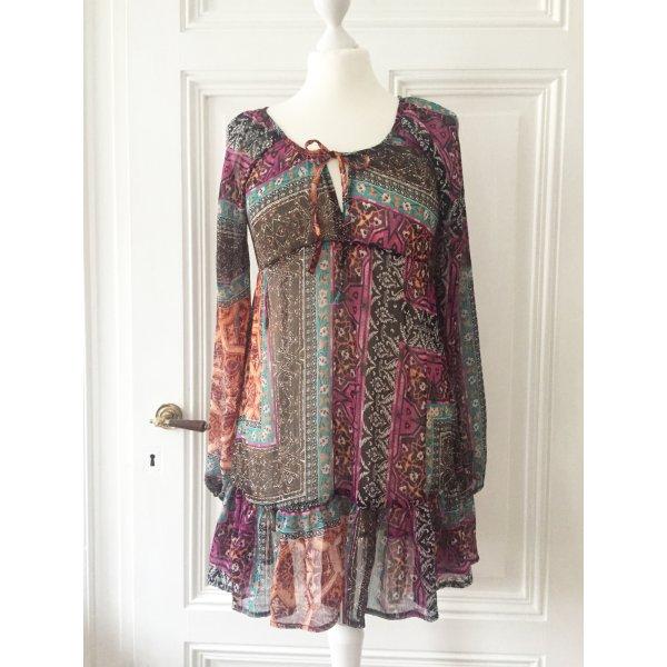 Yessica Transparante blouse veelkleurig Polyester
