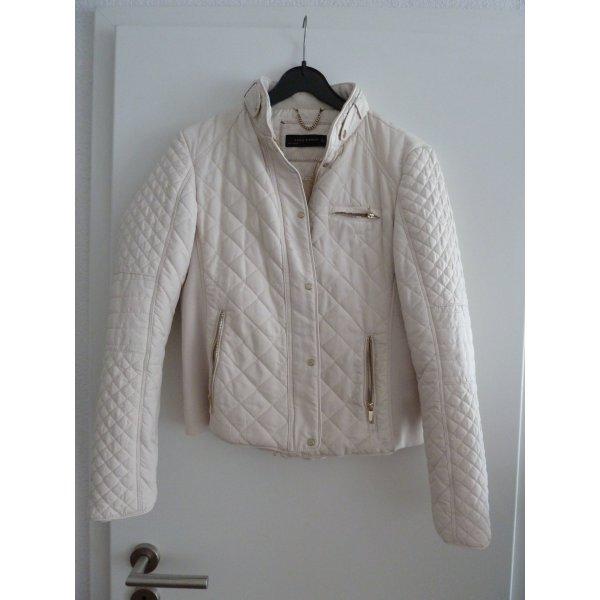 Traumhafte Zara Women Jacke beige Gr. L