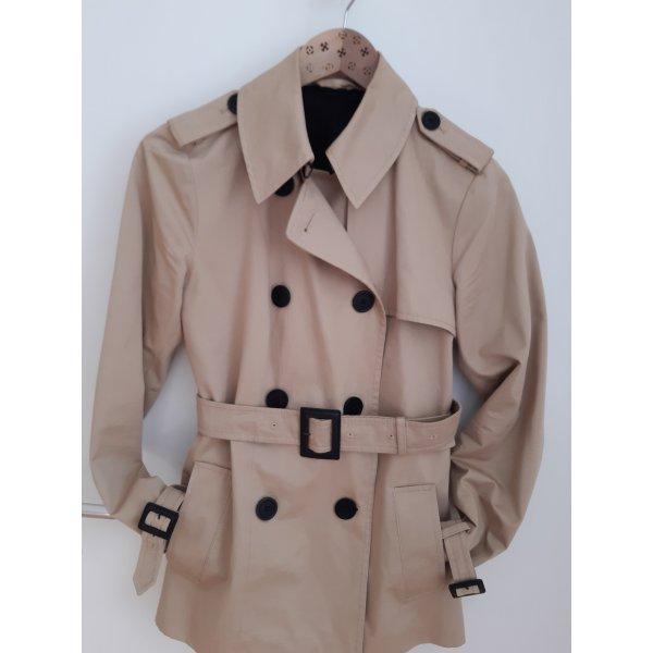 Karl Lagerfeld Veste mi-saison beige-noir coton