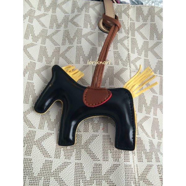 Porte-clés multicolore faux cuir