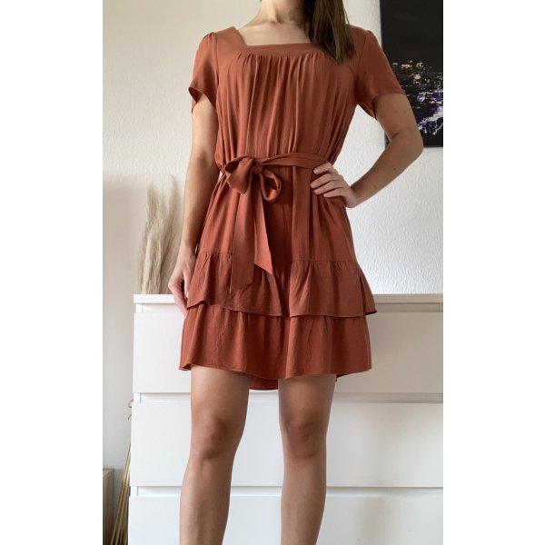 Trendyol, Sommerkleid, Orange/Rostrot