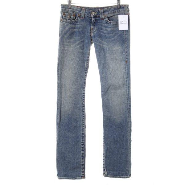 True Religion Straight-Leg Jeans mehrfarbig Casual-Look