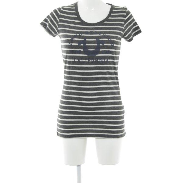 True Religion T-Shirt Schriftzug gedruckt Casual-Look