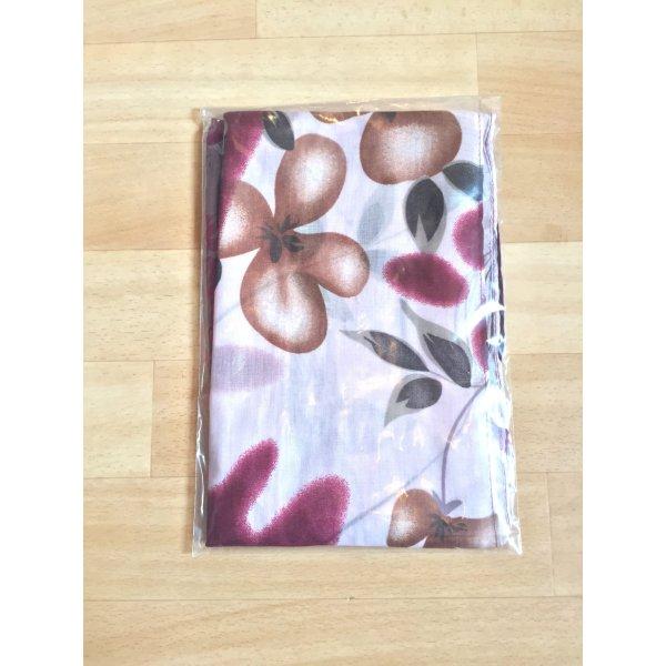 True Vintage Schal, Blumen Tuch (NEU)
