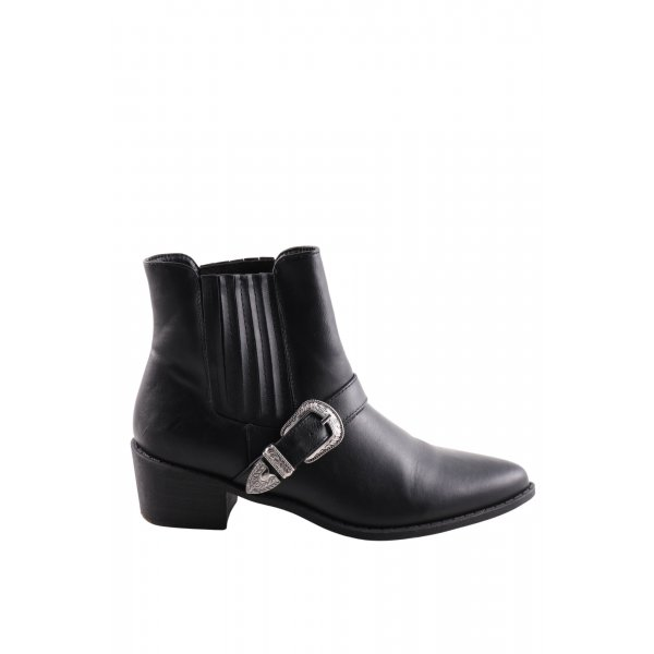 Truffle Collection Western-Stiefeletten schwarz Casual-Look
