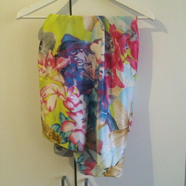 Tuch - Schal Blumenprint