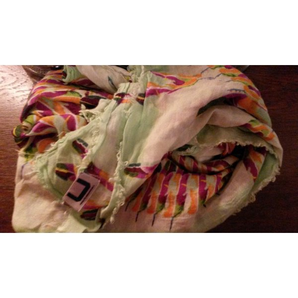 Adolfo Dominguez Scarf multicolored