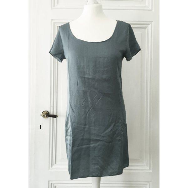 Türkises asymmetrisches Longshirt / Shirtkleid von Braez