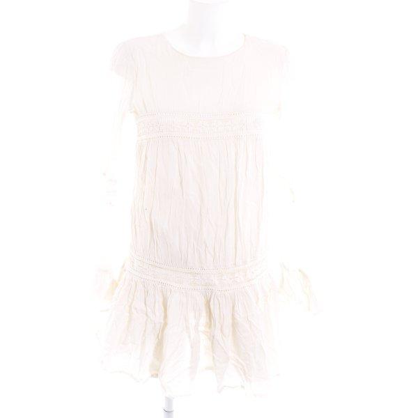 Tularosa Blusenkleid creme schlichter Stil