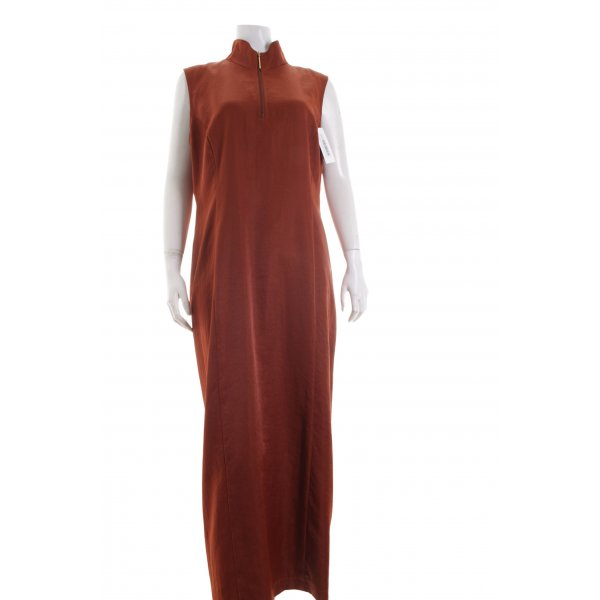 Tuzzi Abendkleid braun Casual-Look