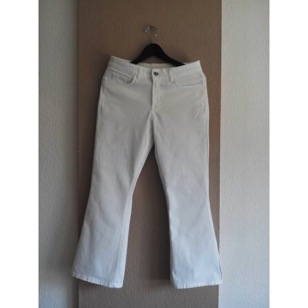 Twin Set Jeans in weiß, Modell Flare Isabelle, Größe Inch 30