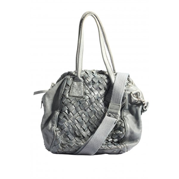Tyoulip Sisters Schultertasche hellgrau Allover-Druck Casual-Look