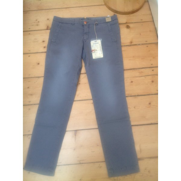 Monocrom Skinny Jeans silver-colored mixture fibre