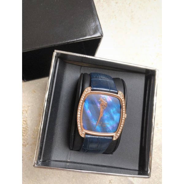 U.S. Polo Armbanduhr, blau
